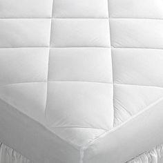 Home Design Promo Microfiber King Mattress Pad DOWNLITE
