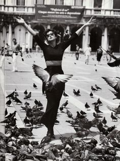 I feel like this with the London pigeons sometimes! Though not so Italian Vogue :) Love Pip xx