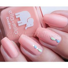 Today on the blog, @ellamilapolish French Kiss.  Full details on www.chitchatnails.com (or via direct link in my profile)