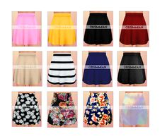 I've been talking a long time about these skirts, so they're finally here. LOL…