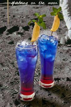 Blue curacao & granadine