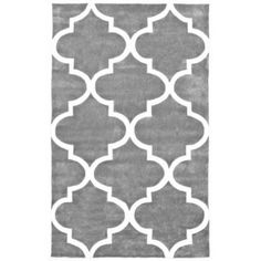 nuLOOM Hand-Tufted Fez Area Rug or Runner, Gray