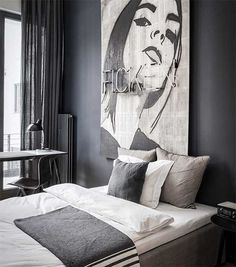 Edgy luxury apartment equipped with statement furniture pieces and signature interior design - HomeWorldDesign (9)