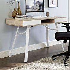 Modway Stir Writing Desk & Reviews   Wayfair