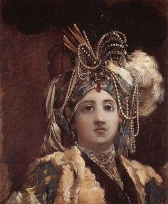 Vien, Sultane Reine, 1748