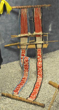 double backstrap weaving!