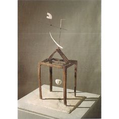 ALBERTO GIACOMETTI, Hour of the Traces, 1930 ..unused postcard Tate Gallery
