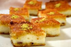 Middle Eastern recipes with pics Lebanese Desserts, Lebanese Cuisine, Lebanese Recipes, Arabic Dessert, Arabic Food, Arabic Sweets, Delicious Deserts, Yummy Food, Cookie Desserts