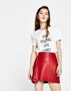 T-shirts - ROUPA - MULHER - Bershka Portugal