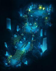 ArtStation - 'Blade' Concept Art - Theme02. Mysterirous Mine, Arthur Lee