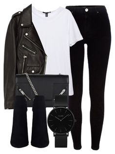 """""""Untitled #6708"""" by laurenmboot ❤ liked on Polyvore featuring River Island, Jakke, Yves Saint Laurent and CLUSE"""