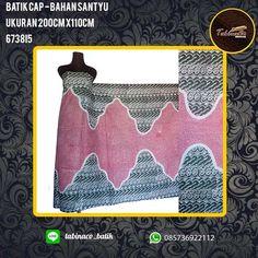 batik cap bahan santyu ukuran 200cm x 110cm  http://tabinacobatik-madura.blogspot.co.id/2017/03/kain-batik-madura-cap.html