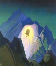 roerich paintings   Christ - Nicholas Roerich   Art