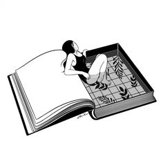 - Print Art - All illustrations are hand drawn by Henn Kim. Art And Illustration, Black And White Illustration, Illustrations, Illustration Fashion, Henn Kim, Mark Ryden, Poster S, Art Graphique, Contemporary Artists