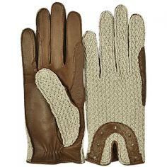 Manusi de Piele cu Ornamente Crosetate Gloves, Woman, Fashion, Moda, Fashion Styles, Women, Fashion Illustrations