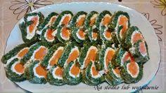 Na słodko lub wytrawnie: Rolada z wędzonego łososia
