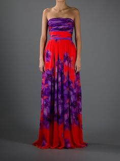 Giambattista Valli - strapless maxi dress. Too bad it's a fortune...