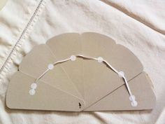 Wings of Whimsy: French L'Amour Fan - back assembly