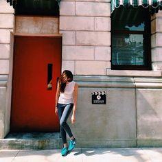Zipia Sleeveless Knit Top, Topshop Skinny Jeans, New Balance 420, Casio Vintage Watch
