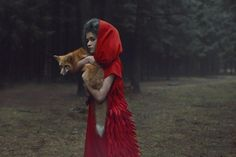 Fairytale Photo Shoot With Real Animals!