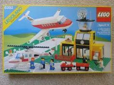My first Lego airport set.  Loved those tiny little suitcases.