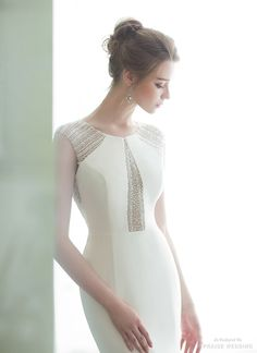 This elegant jeweled gown from BJ Hestia Wedding is overwhelmingly beautiful! » Praise Wedding Community