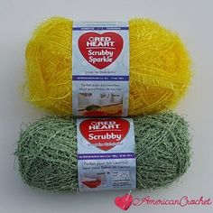 Red Heart-Scrubby-Sp