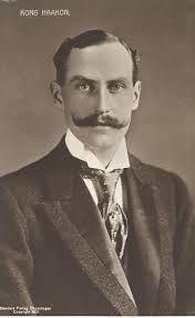 król Norwegii Haakon VII