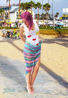 Crochet Beach Cover Up Free Pattern | Beautiful Crochet Stuff