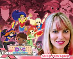 Meet writer Shea Fontana at #FANX16! Best known for DC Super Hero Girls, Doc McStuffins, and more! #utah