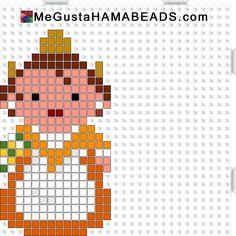 Fallera hama perler beads pattern