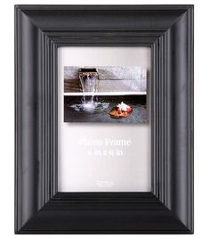 4''X6'' Black Step Profile Frame at Joann.com