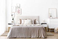 Tilo cómoda blanca y natural Room Goals, Home Staging, Ideas Para, Bedroom Furniture, Sweet Home, New Homes, Indoor, Interior Design, Retro