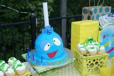 LolliSlop Birthday Cake -The Grossery Gang -CAMDEN'S 5th Birthday