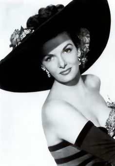 Jane Russell in a publicity photo for Frank Tashlin's Son of Paleface, 1952.
