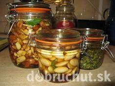 Orechy v mede Pickles, Cucumber, Food, Meal, Essen, Pickle, Hoods, Meals, Zucchini