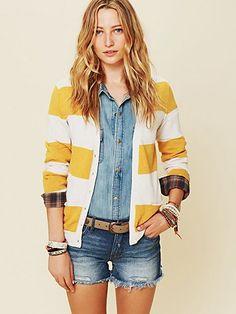 Cashmere Stripe Cardigan  http://www.freepeople.com/whats-new/cashmere-stripe-cardigan/