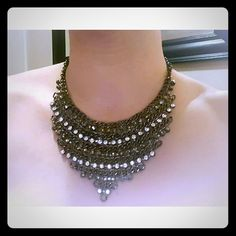 Arden B holiday necklace, rhinestone Arden brand-new with tags and rhinestone encrusted Arden B Jewelry Necklaces