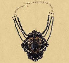 Michal Negrin ~ NECKLACE 14095