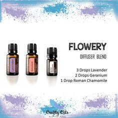 Flowery Essential Oil Diffuser Blend