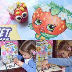 handmade Strawberry Kiss @shopkins_world #shopkins #art #creative #craft #kids #activity #handmade #toys #cute #fun
