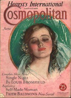 Cosmopolitan magazine, JUNE 1932 Artist: Harrison Fisher