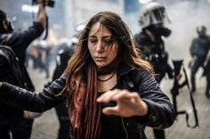 Turkish Riot Police Tear Gas Protesters On Anniversary, Turning Istanbul Into A War Zone (GRAPHIC PICTURES)