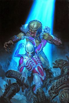 Dark Horse Cover of the Day: Alien Vs Predator Fire And Stone #4 (Of 4)