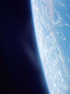Planet Earth on June 4, 1966, photographed on the Gemini 9 mission. (NASA/University of Arizona)
