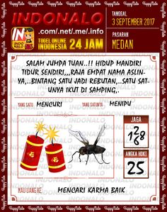 Dukun 4D Togel Wap Online Indonalo Medan 3 September 2017