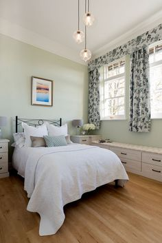Our fitted bedrooms, kitchens & home office furniture perfectly fit into your home & lifestyle. At Hammonds we'll help you find the design that's right for you. Linen Baskets, Fitted Bedrooms, Tall Ceilings, Sash Windows, Brushed Metal, Seat Pads, Shaker Style, Home Office Furniture, Country Chic