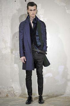 Haider Ackermann Spring 2014 Men's Collection