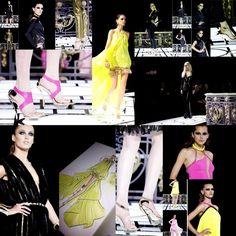 PARIS | Glitz. Neon. Nero. Géométriques. | Atelier Versace    SS 2013 | HAUTE COUTURE