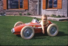 Long lost pedal car - why did we ever let it go?